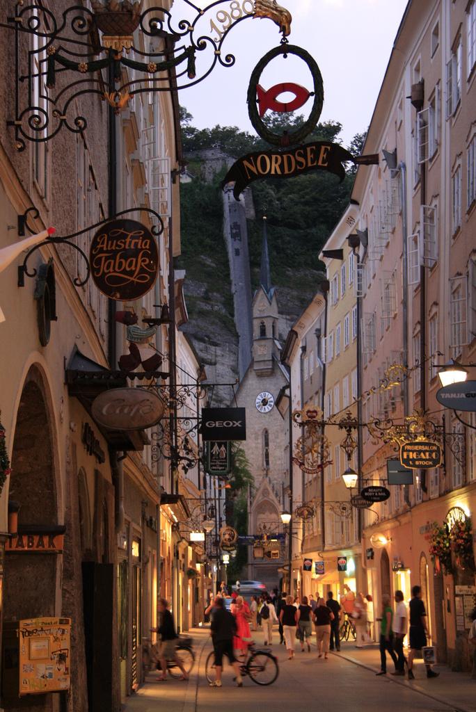 Old Town, Salzburg, Austria