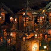 Buddist lantern festival, Sri Lanka
