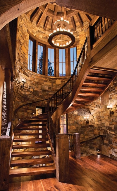 Amazing wooden interior