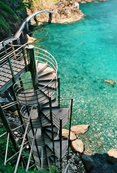 Spiral Staircase, Ulleungdo, South Korea