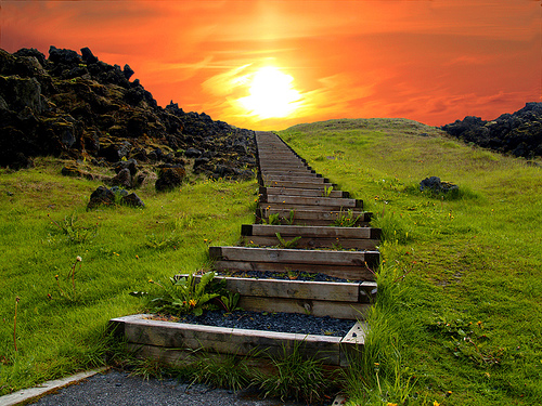 Stairway to Heaven, Iceland