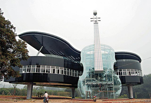The Piano House, Huainan, Anhui, China