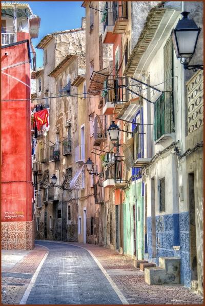 Balconies, Valencia, Spain