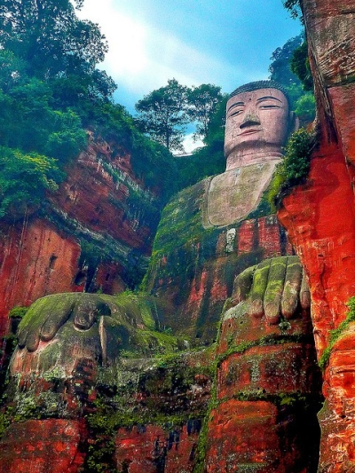 Giant Buddha of Leshan, China