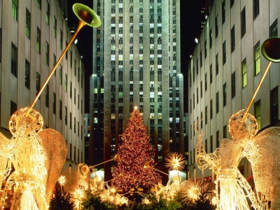 Christmas at Rockefeller Center, New York City