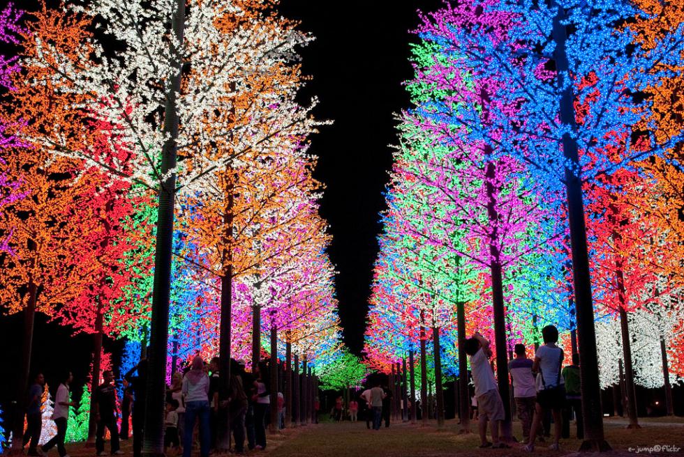 Christmas lights, Selangor, Malaysia
