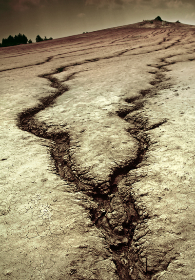 Muddy Volcanoes, Romania