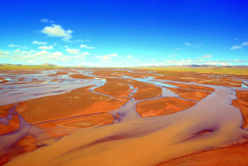 Origin of Yangtze River, China