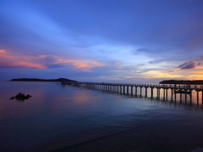 Rawai Beach Pier, Phuket, Thailand