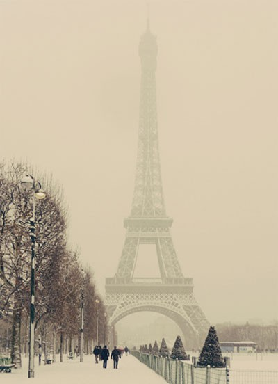 Wintertime in Paris