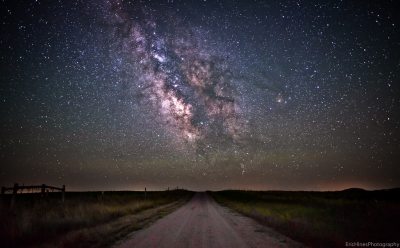 Wyoming Dirt Road Milky Way