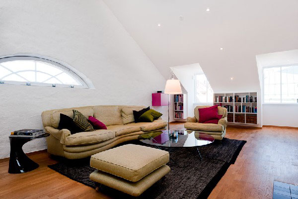 Best attic rooms designs