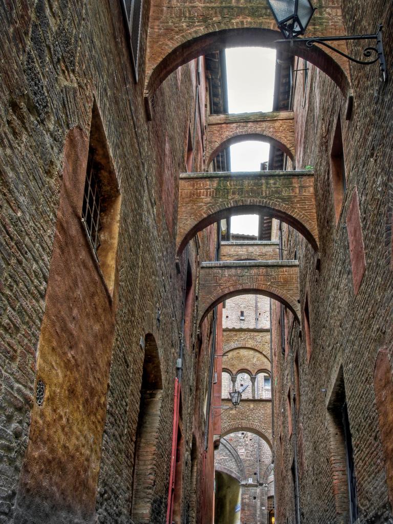 7 Bridges of Siena, Italy