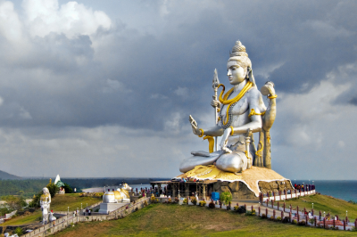 A Beatific Shiva at Murudeshwar, Karnataka, India