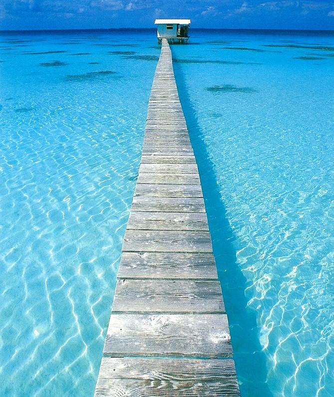 A bridge across waters