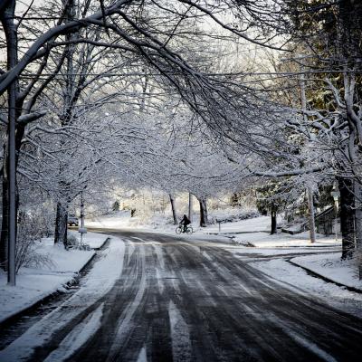Ann Arbor, Michigan in winter