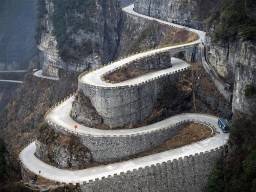 Tianmen Mountains, China