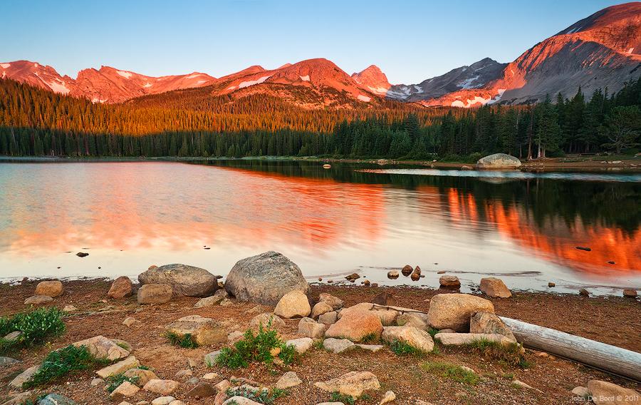 Brainard Lake State Recreation Area, Colorado, USA