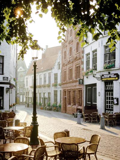 Cafe scene, Brugges, Belgium