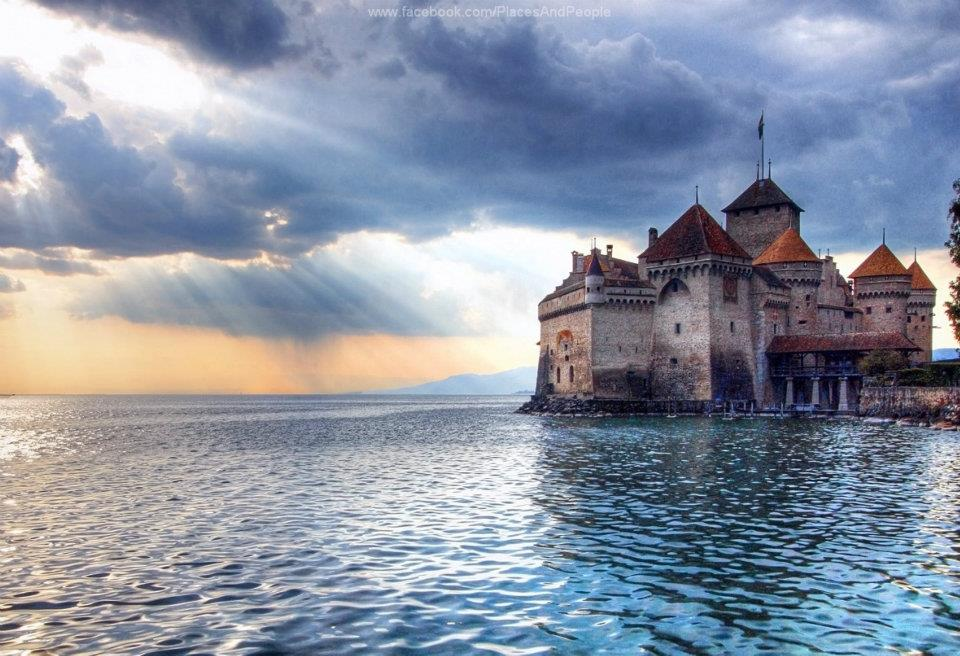 Ch teau de chillon switzerland photo on sunsurfer sunsurfer for Sun castle