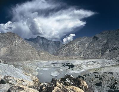 Himalaya Karakorum Hindukush mountain range meeting point, Pakistan