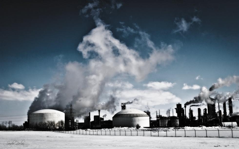 Industrial winter, Canada