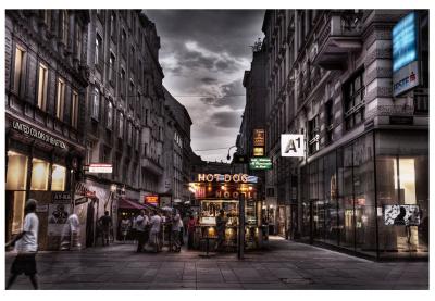 Kärntner Straße, Vienna, Austria