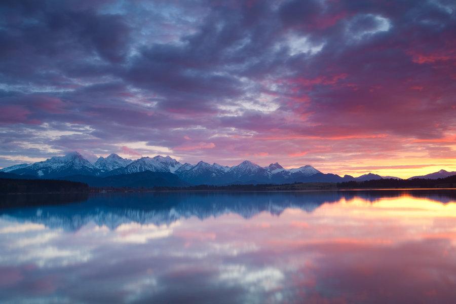 Lake Plansee, Tirol, Austria