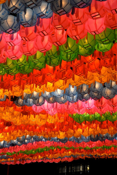 Lantern festival, Seoul, South Korea