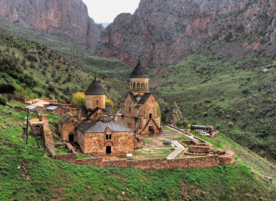 Noravank Monastery nearby the city of Yeghegnadzor, Armenia