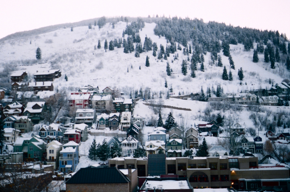 Park City, Utah in winter