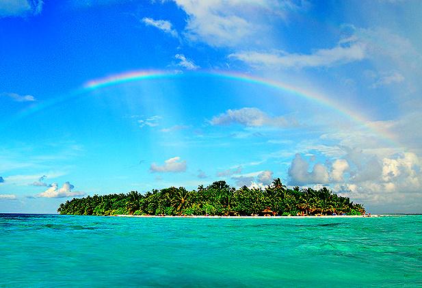 Rainbow Island, The Maldives