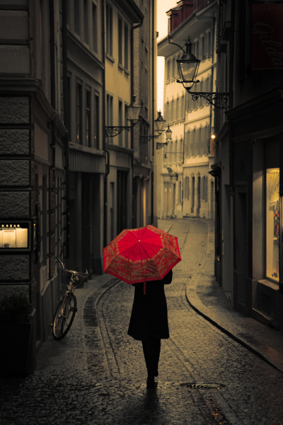 Rainy Day, Lucerne, Switzerland