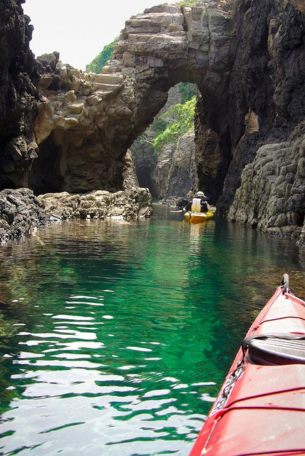 Sea Caves, Okinoshima Islands, Shimane, Japan