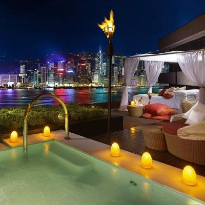 Terrace Suite, Intercontinental Hong Kong