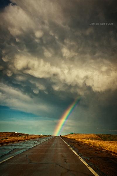 The Eastern plains of Colorado outside of Crook, Colorado