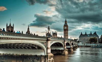 Westminster Bridge, Whitehall, London, England