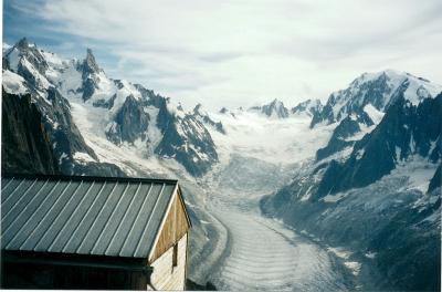 Refuge de la Charpoua, Mer de Glace, Mont-Blanc, French Alps