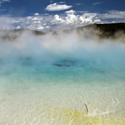 Excelsior geyser, Yellowstone National Park