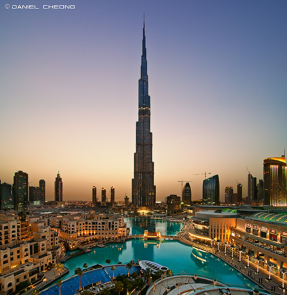 Dubai United Arab Emirates  city images : Burj Khalifa, Dubai, United Arab Emirates photo on Sunsurfer