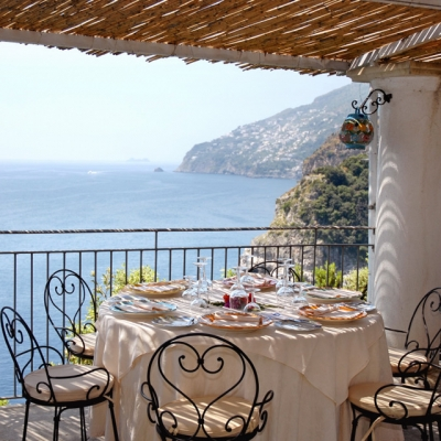 Calajanara Restaurant, Amalfi Coast, Italy