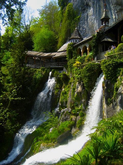 Caves of St. Beatus, Lake of Thun, Switzerland