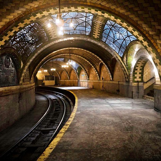 City Hall Subway Station, New York Photo On Sunsurfer
