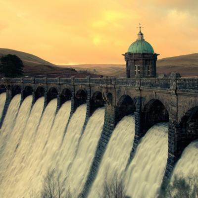 Craig Goch Dam, Wales
