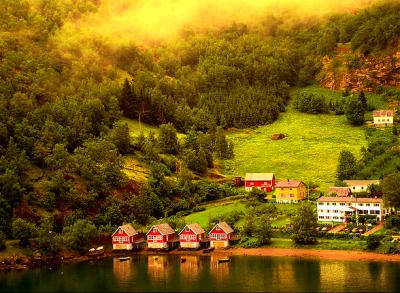 Flaam, Norway