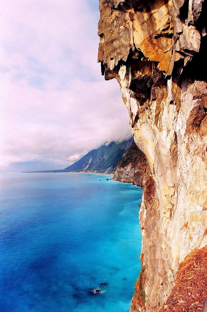 Hualien water cliff, Taiwan