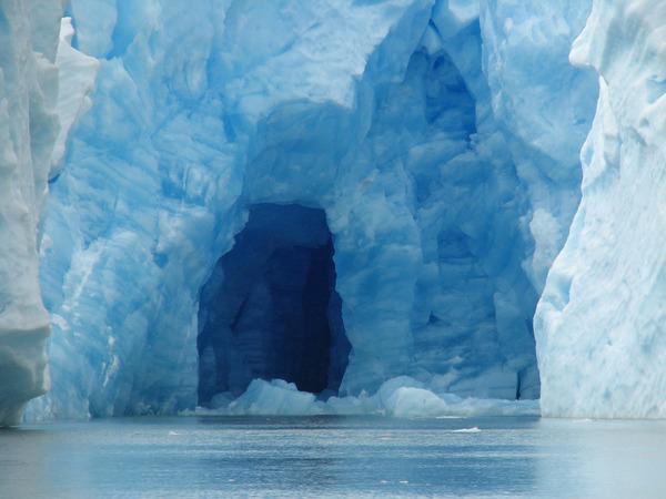 Ice Cave, Glacier Grey, Patagonia, Argentina