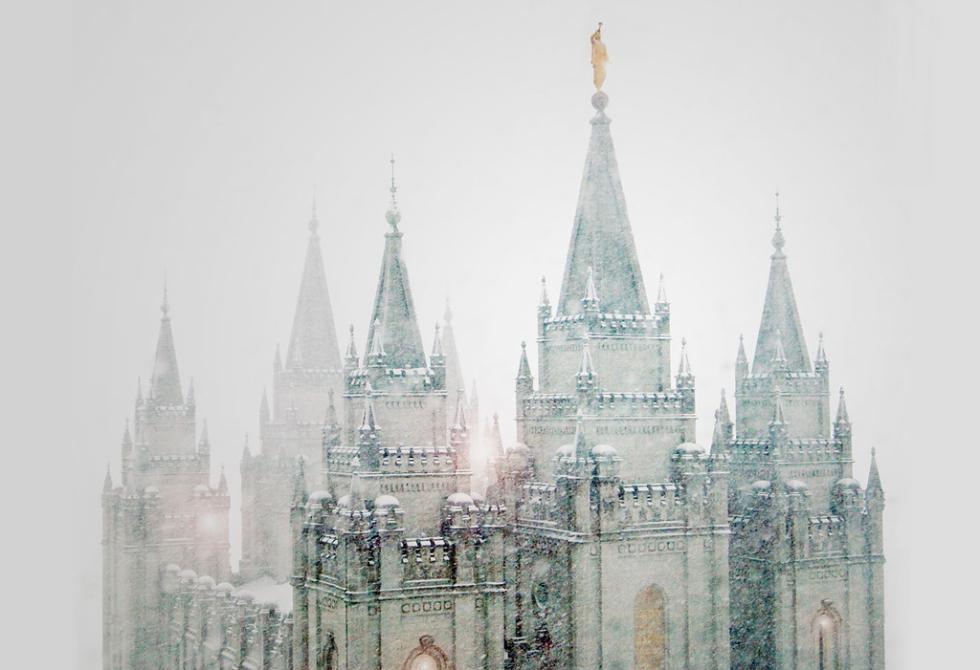 Latter-Day Saints Temple, Salt Lake City, Utah