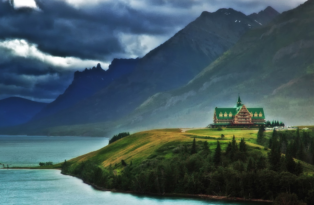 Prince Of Wales Hotel Waterton National Park Canada