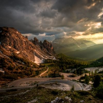 Rifugio Auronzo, La Croda Rossa Mountains, Italy